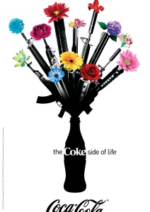Coca Cola billboard and magazine ad with 12 of my photos