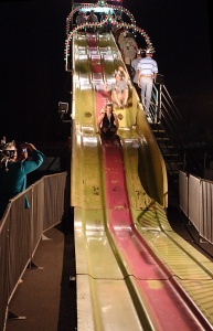 Geeks on a slide