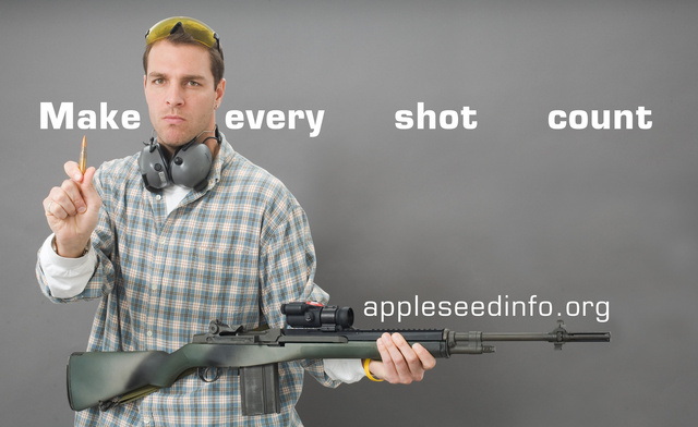 Appleseed Make Every Shot Count