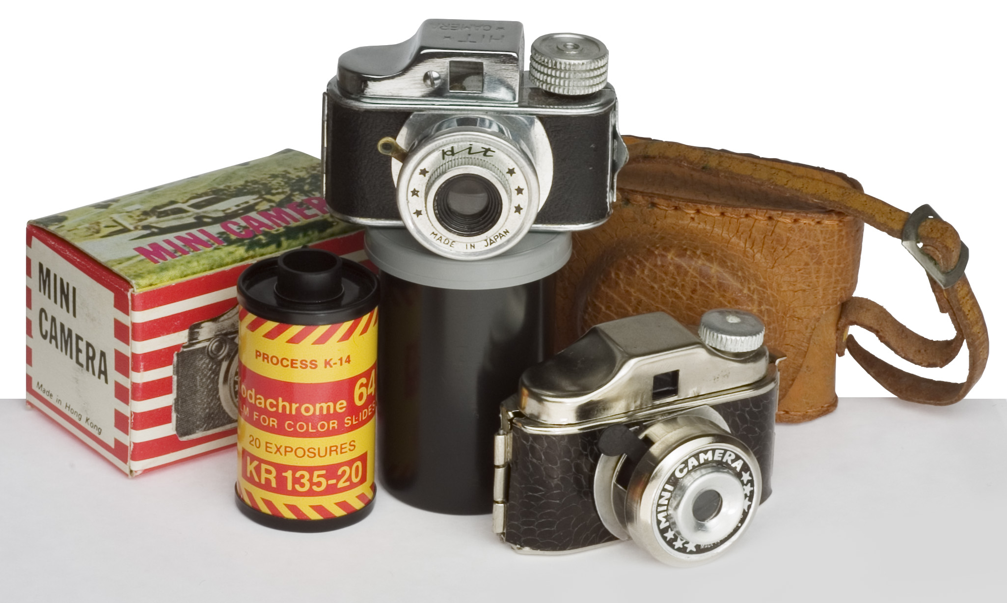 Sub-miniature Japanese cameras from 1950s