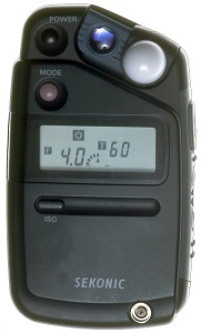 Sekonic flash meter