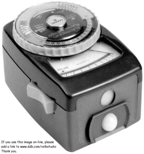 Gossen flash meter