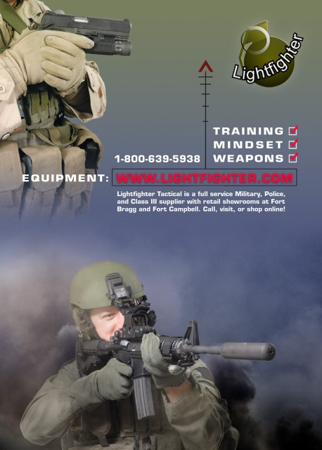 Full page ad for Valhalla (SWAT Magazine).