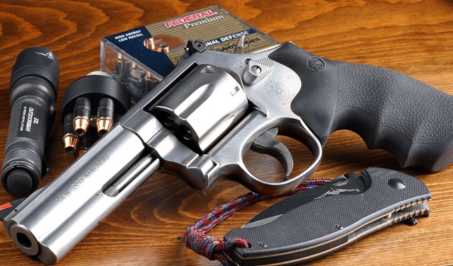 "Smith & Wesson 686 4"" barrel .357 magnum"