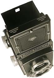 Rolleicord, top view