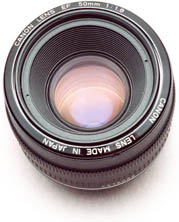 50mm Canon lens